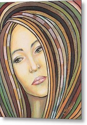 Melancholy 300308 Metal Print by Sylvia Kula
