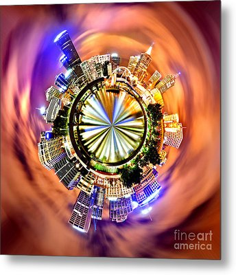 Melbourne Central Metal Print by Az Jackson