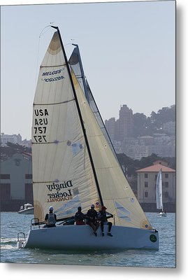 Melges 24 San Francisco Metal Print