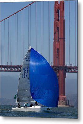 Melges At The Gate Metal Print