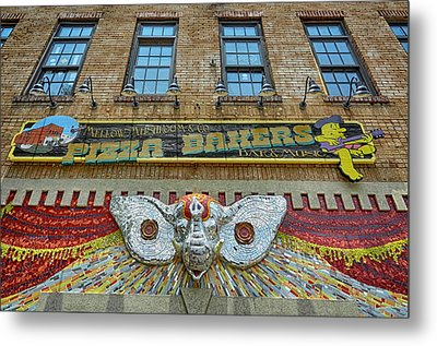 Mellow Mushroom Tuscaloosa Style Metal Print by Ben Shields