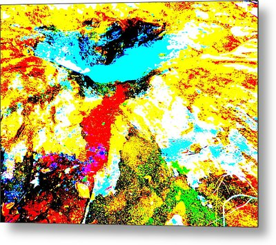 Mellow Yellow 42 Metal Print by George Ramos