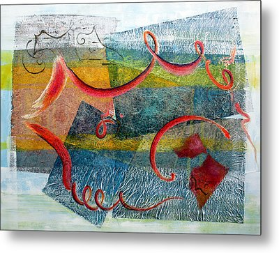 Melody In My Mind Metal Print by Asha Carolyn Young
