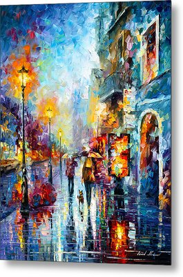 Melody Of Passion Metal Print by Leonid Afremov