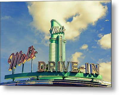 Mel's Metal Print by Laurie Perry
