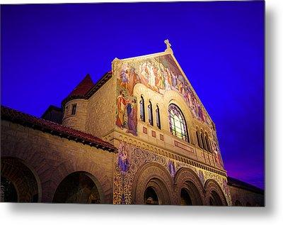 Memorial Church Stanford University Metal Print by Scott McGuire