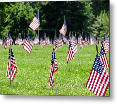 Metal Print featuring the photograph Memorial Day by Ed Weidman