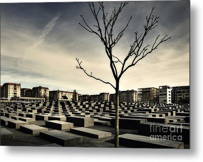 Metal Print featuring the photograph Memorial Landscape by Michel Verhoef
