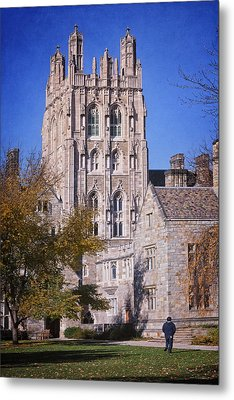 Memorial Quadrangle Yale University Metal Print