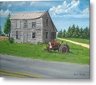 Memories... Metal Print by Norm Starks