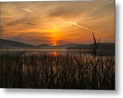 Memories Of A Sunset Metal Print by Rose-Maries Pictures