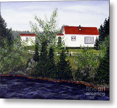 Memories Of Home  Metal Print by Barbara Griffin
