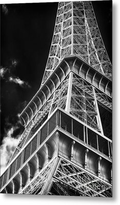 Memories Of The Eiffel Tower Metal Print by John Rizzuto