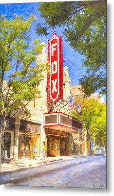 Memories Of The Fox Theatre Metal Print