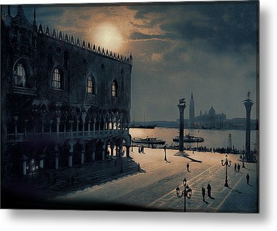 Metal Print featuring the painting Memories Of Venice No 2 by Douglas MooreZart