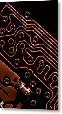 Memory Chip Metal Print by Bob Orsillo