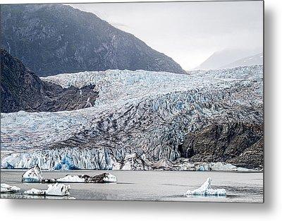 Mendenhall Glacier 1 Metal Print