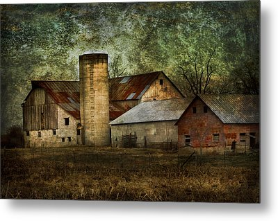 Mennonite Farm In Tennessee Usa Metal Print