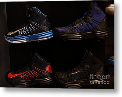 Men's Sports Shoes - 5d20654 Metal Print