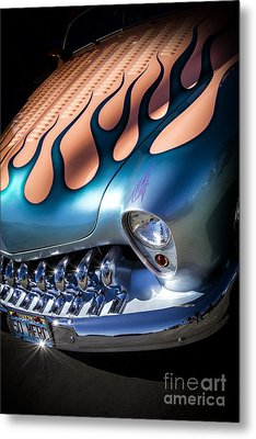 Merc Metal- Metal And Speed Metal Print by Holly Martin