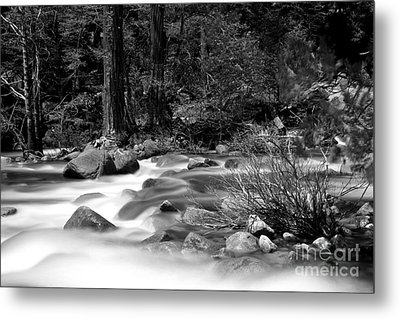 Metal Print featuring the photograph Merced River by Jason Abando