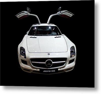 Mercedes Amg Metal Print