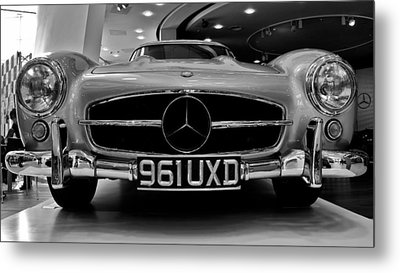 Metal Print featuring the photograph Mercedes Benz 300sl by Stephen Taylor