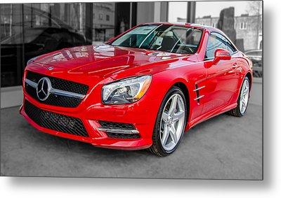 Mercedes Sl550   7d01718 Metal Print