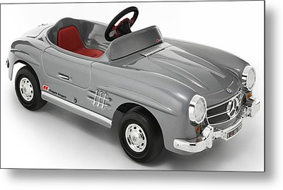 Mercedes Toy Art Metal Print