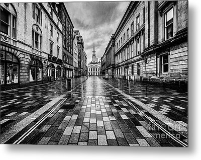 Merchant City Glasgow Metal Print