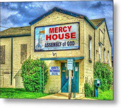 Mercy? Metal Print by MJ Olsen