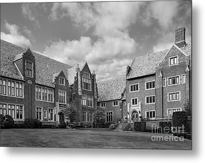 Mercyhurst University Old Main Metal Print by University Icons