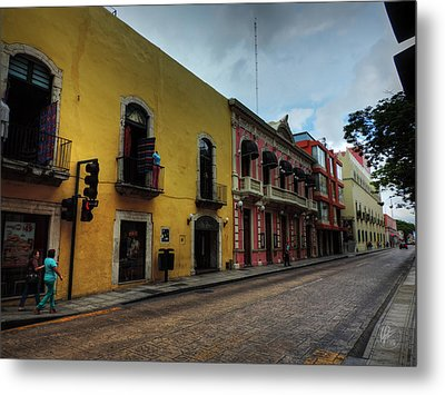 Merida Yucatan 003 Metal Print by Lance Vaughn