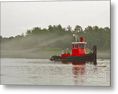 Metal Print featuring the photograph Merrimack Mist by Alice Mainville