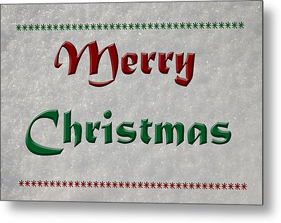 Merry Christmas Metal Print by Aimee L Maher Photography and Art Visit ALMGallerydotcom