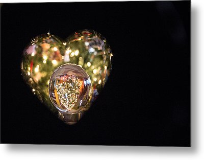 Merry Christmas Metal Print by Cathy Donohoue