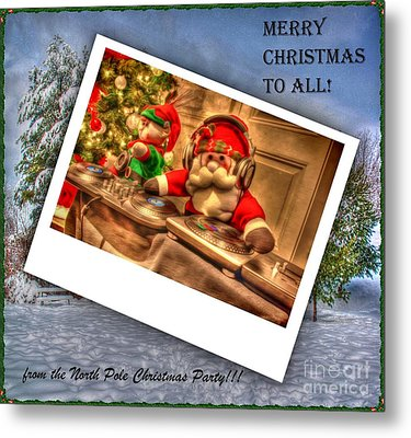 Merry Christmas Metal Print by Dan Stone