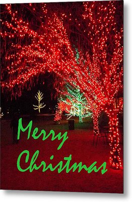 Merry Christmas Metal Print by Darren Robinson