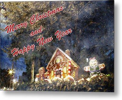 Merry Christmas Metal Print by Skip Nall