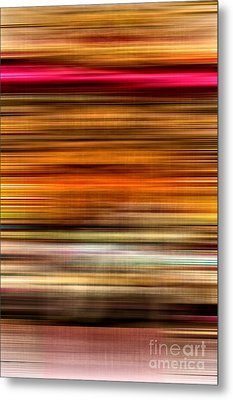 Merry Go Round Abstract Metal Print by Edward Fielding