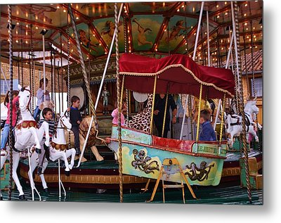 Merry Go Round Metal Print by Dany Lison