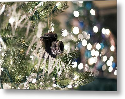 Merry Xmas Shutterbugs Metal Print by Edward Kreis