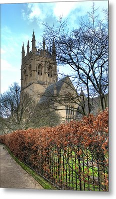Merton College Chapel Metal Print