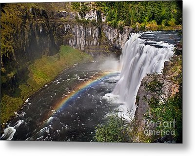Mesa Falls Metal Print by Robert Bales