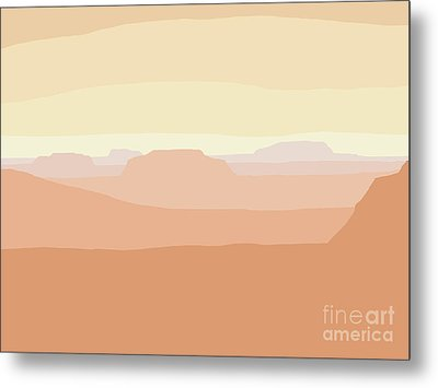 Mesa Valley Metal Print