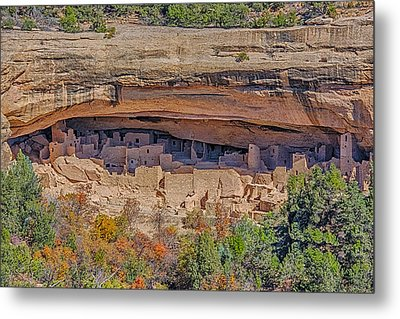 Mesa Verde Cliff Dwelling Metal Print