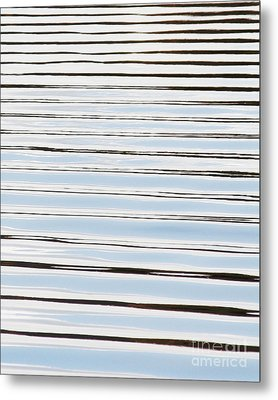 Metal Print featuring the photograph Mesmerizing Waves by Anita Oakley