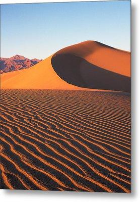 Mesquite Dunes 1-v Metal Print