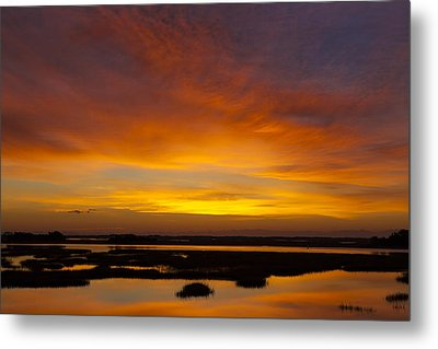 Message From The Universe  Sunrise Photograph By Jo Ann Tomaselli Metal Print