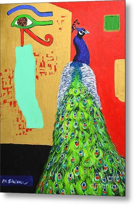 Messages Metal Print by Ana Maria Edulescu